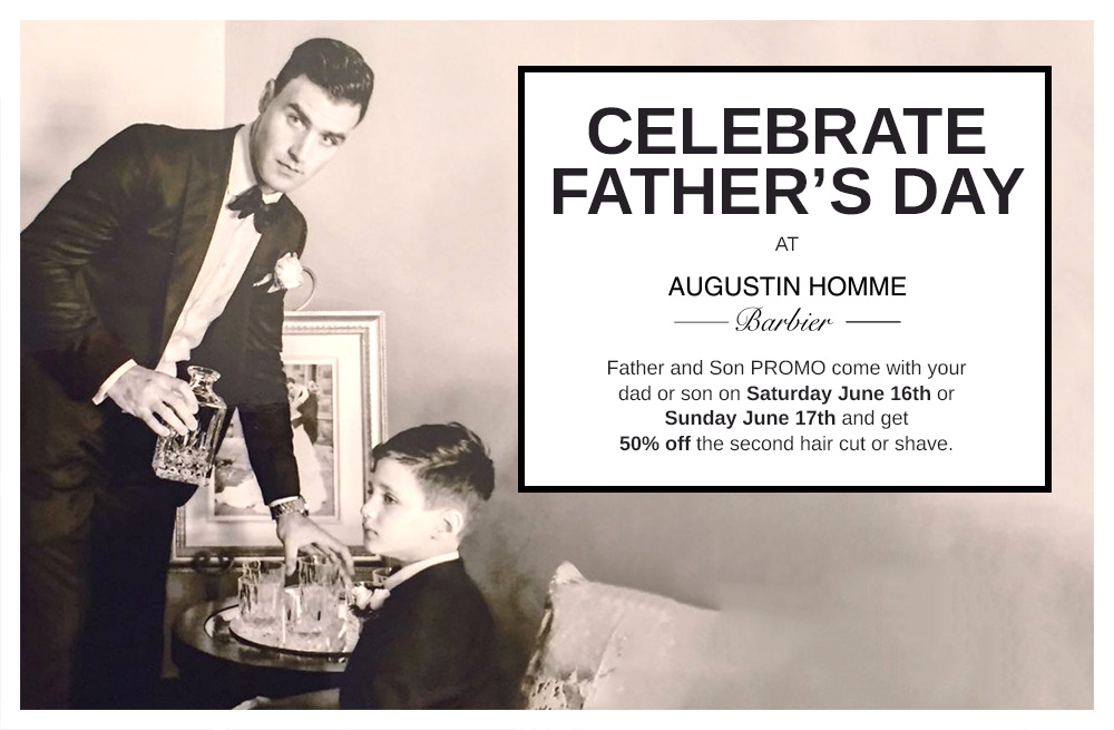Salon Augustin Father's day promo